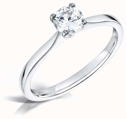 Certified Diamond 0.50ct D SI1 IGI Diamond Engagement Ring FCD28393