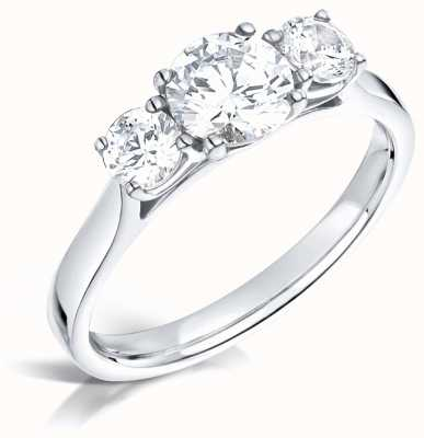 Certified Diamond 0.61ct H SI1 IGI Diamond Engagement Ring FCD28382