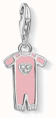 "Thomas Sabo Charm Pendant ""Pink Babygrow"" 1455-041-9"