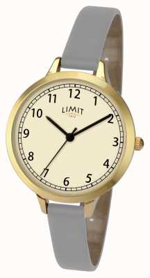 Limit Womans Grey/Violet Strap Watch 6228