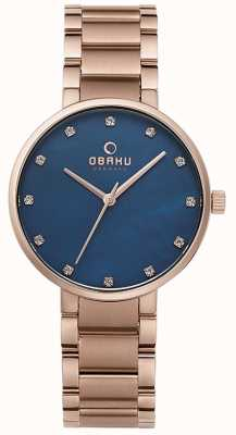 Obaku Womans GLAD LAPIS V189LXVLSV