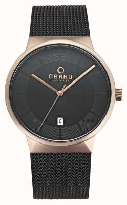 Obaku Mens Hav Watch V200GDVBMB