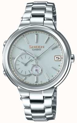 Casio Sheen Bluetooth Stainless Steel Womens Connected SHB-200D-7AER