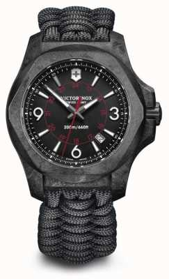Victorinox Swiss Army INOX Carbon Composite Paracord Bracelet Swiss Movement 241776