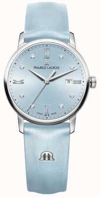 Maurice Lacroix Womans Eliros Eight Diamonds Blue EL1094-SS001-550-1