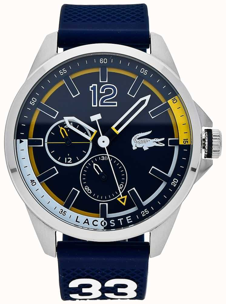 Lacoste Mens Capbreton Navy Chronograph 2010897 First Class Watches