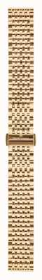 Maurice Lacroix Strap Only 16 Mm PVP Rose Gold Plated Bracelet ML450-005003
