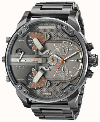 Diesel Mens Mr Daddy 2.0 Gunmetal Chronograph DZ7315