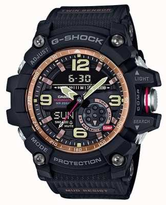 Casio Mudmaster G-Shock Mens Rose Gold Twin Sensor GG-1000RG-1AER