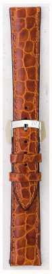 Morellato Strap Only - Liverpool Croc Leather Light Brown 20mm A01U0751376037CR20