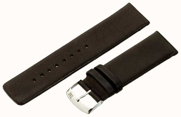 Morellato Strap Only - Large Napa Leather Black 22mm A01X3076875019CR22