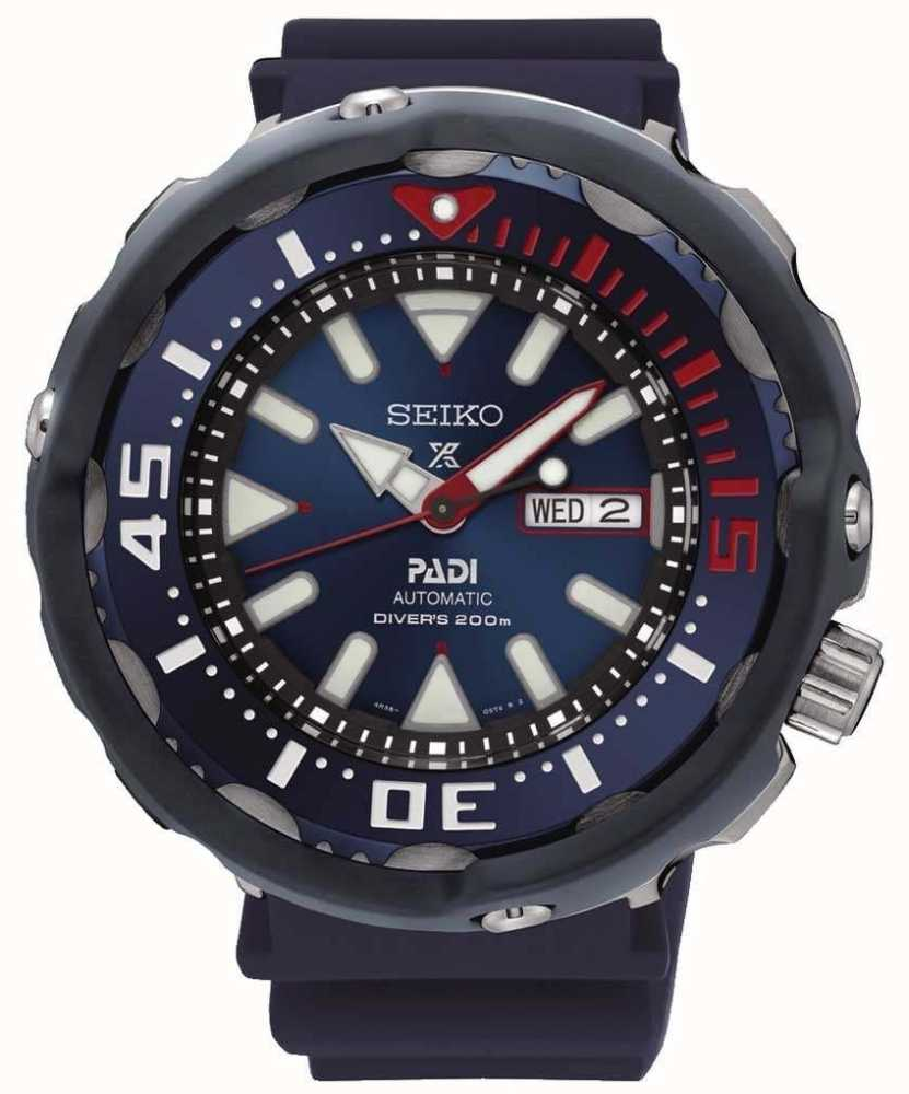 Seiko Mens Prospex Divers Padi Special Edition Automatic Blue Dial