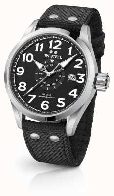 TW Steel Mens Volante Black 48mm VS2