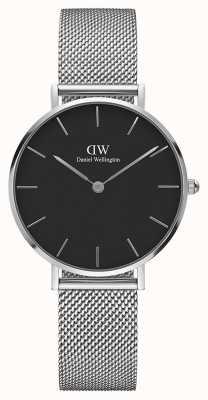 Daniel Wellington Womans Classic Melrose Petite Silver Mesh DW00100162