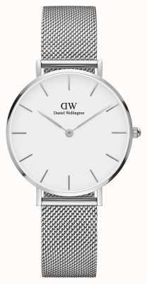 Daniel Wellington Womans Classic Melrose Petite Silver Mesh DW00100164
