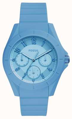 Fossil Womans Poptastic Chronograph Blue ES4189