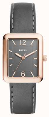 Fossil Womans Atwater Grey Leather ES4245