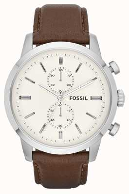 Fossil Mens Townsman Brown Leather FS4865