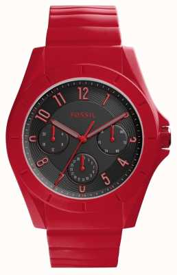 Fossil Womans Poptastic Chronograph Red FS5289