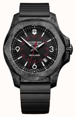 Victorinox Swiss Army INOX Carbon Black Rubber Strap 241777