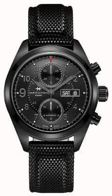 Hamilton Khaki Field Auto Chrono *Watch of Tom Clancy's Jack Ryan* H71626735