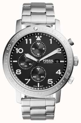 Fossil Mens The Major Chronograph Black CH3082
