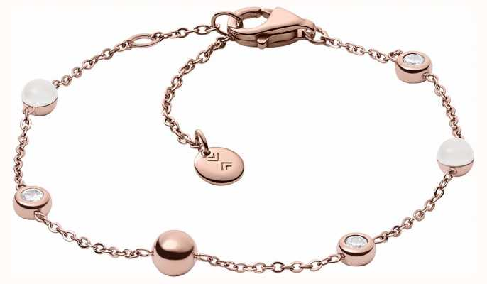Skagen Womans Sea Glass Rose Gold Bracelet SKJ0971791