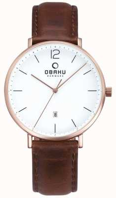 Obaku Mens Toft Watch V181GDVWRN