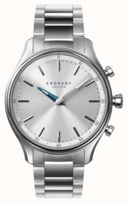 Kronaby 38mm SEKEL Bluetooth Stainless Steel Bracelet A1000-0556 S0556/1