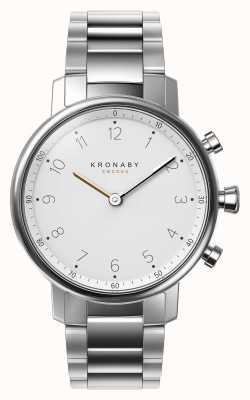 Kronaby 38mm NORD Bluetooth Stainless Steel Bracelet Smartwatch A1000-0710