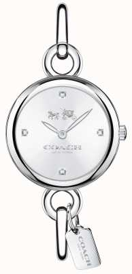 Coach Womans Stainless Steel Hangtag Watch 14502648