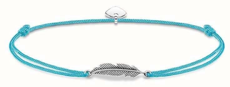 Thomas Sabo Sterling Silver Glam And Soul Little Secrets Feather LS009-907-31-L20V