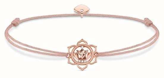 Thomas Sabo Sterling Silver Glam And Soul Little Secrets Lotus Flower LS016-898-19-L20V