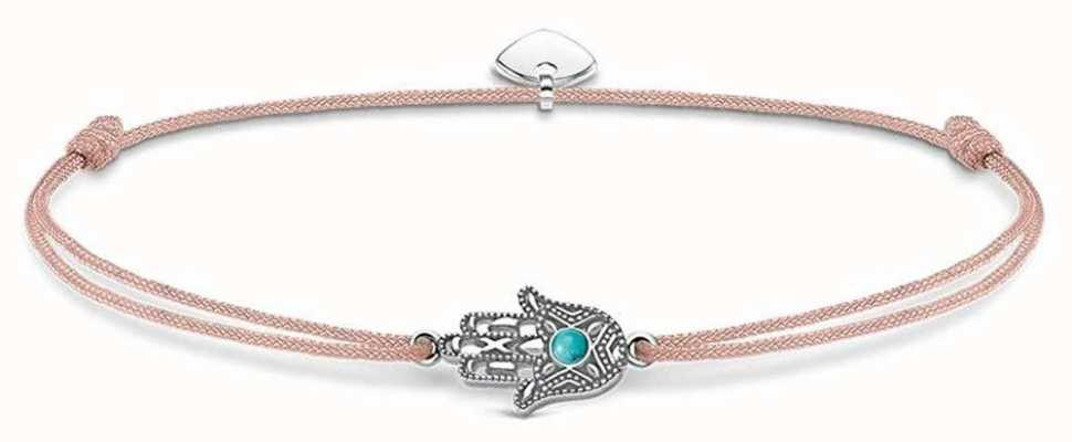Thomas Sabo Sterling Silver Glam And Soul Little Secrets Hand Of Fatima LS023-905-19-L20V