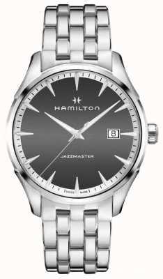 Hamilton Mens Jazzmaster Quartz Grey Dial H32451181