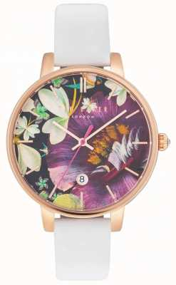 Ted Baker Womans Kate Enchantment Floral Dial White TE10031547