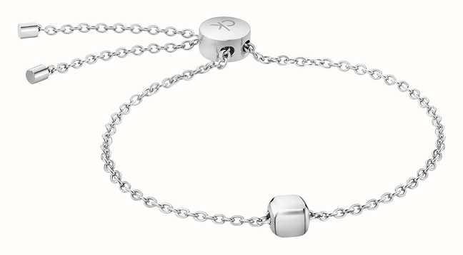 Calvin Klein Mens Silver Bracelet KJ5QMB000100