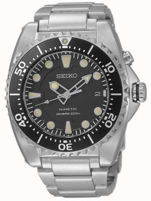 Seiko Mens Kinetic Divers Stainless Steel Bracelet SKA761P1