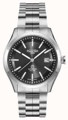 Roamer Automatic RD100 | Stainless Steel Bracelet | Black Dial 951660 41 55 90