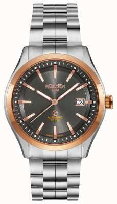 Roamer Mens RD 100 Automatic Watch Stainless Steel 951660490590