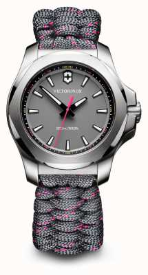 Victorinox Swiss Army Womans I.N.O.X V Grey Paracord 241771