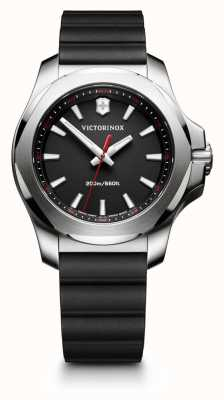 Victorinox Swiss Army Womans I.N.O.X V Black Rubber 241768