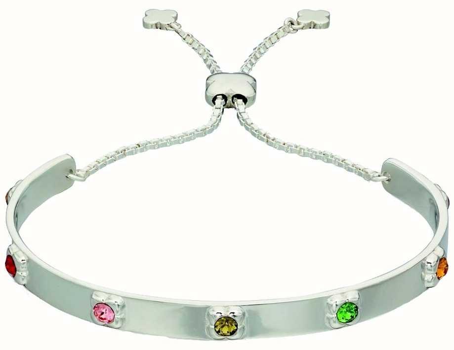 Orla Kiely Womans Sterling Silver Flower Toggle Bracelet B4850 ... 3acefaf41