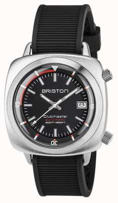 Briston Unisex Clubmaster Diver Brushed Steel Auto Navy 17642.S.D.15.RNB