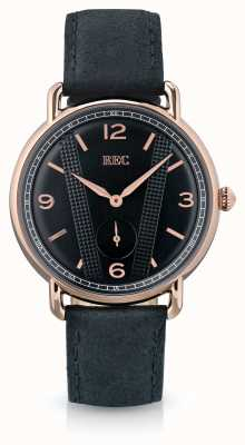 REC Cooper C3 Black Calf Skin Leather Strap C3