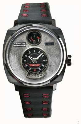 REC P51-04 Mustang Limited Edition Automatic Black Leather P51-04