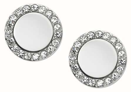 Fossil Womans Classics Silver Tone Studs JF01791040