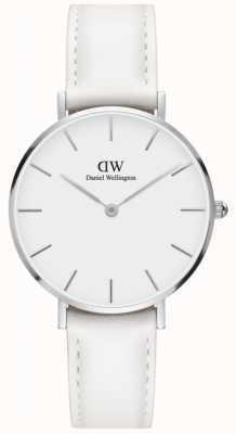 Daniel Wellington Classic Petite Bondi 32mm White Leather Strap DW00100190