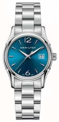 Hamilton Womans Jazzmaster Lady 34mm Blue Dial H32351145
