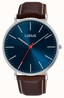 Lorus Mens Urban Dress Classic Navy Blue Dial RH813CX9